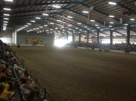 Performances In The Covered Arena